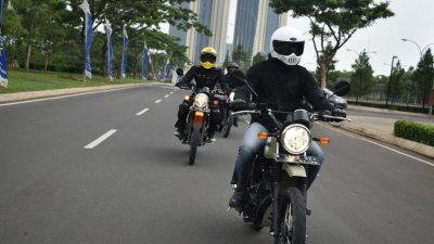 Kawasaki Ajak Media Test Ride W175TR